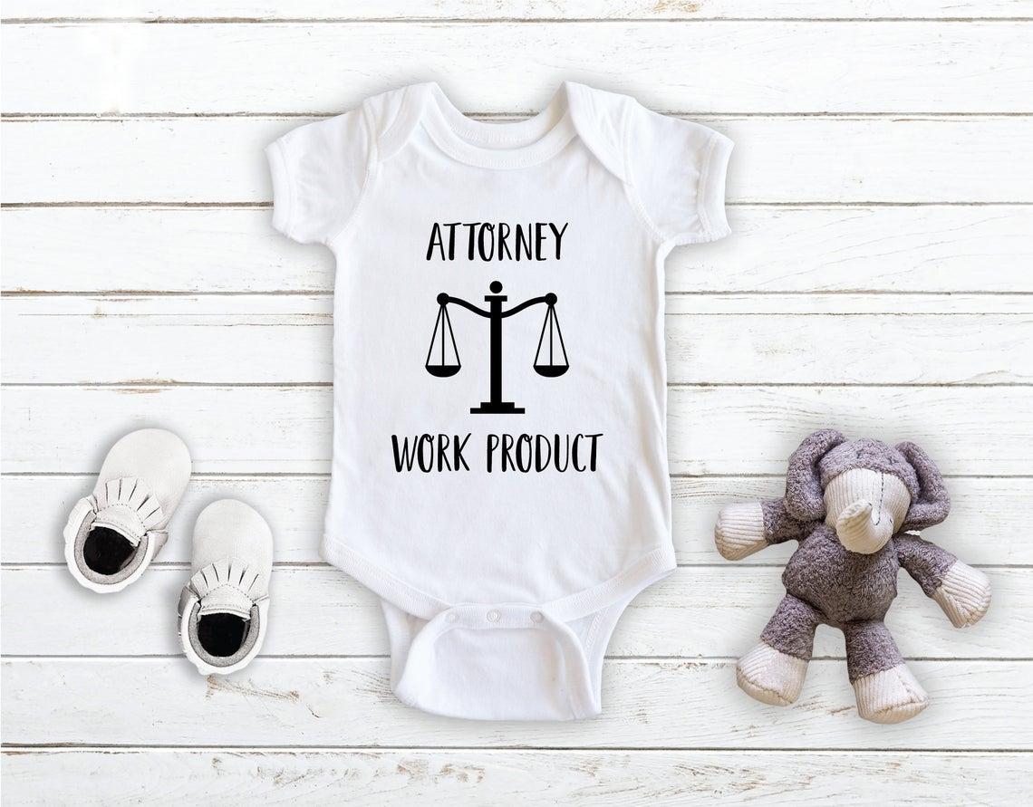 Attorney Work Product Onesie